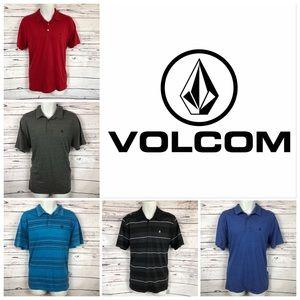 VOLCOM Bundle Of 6  Mens Polo Shirts